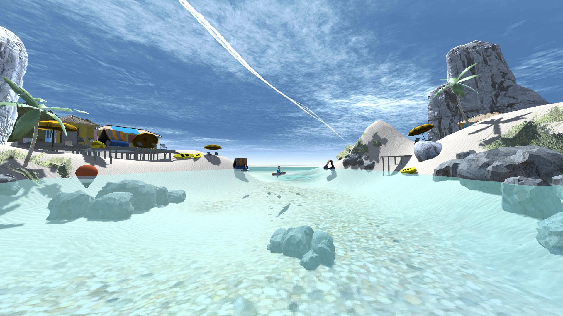 Décor application Kayak VR