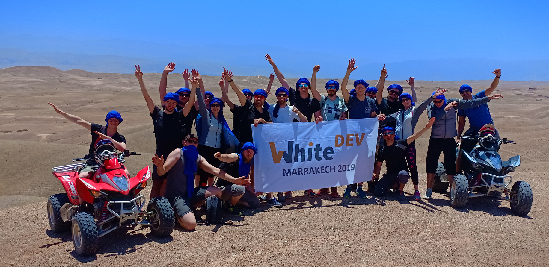 Voyage des 10 ans de WhiteDev au Maroc